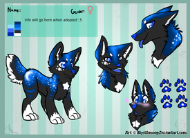 MoonPuppy Adopt MiniReference Sheet by MystikMeep
