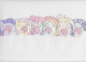 We're Fillies and What is This by WillowTails