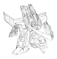 armada starscream sketch by equanimity505