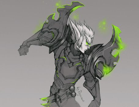 WoW: Gavius sketch by ryumo