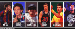 The Best in Their Field - Sports Aces by LifeAlpha