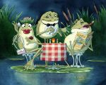 Dinner Frogs by ColbyBluth