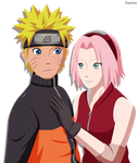 Time for another NaruSaku picture by Kaschra