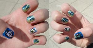 Zim Nails by 2ninjabee2