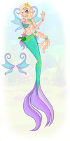 Contest Entry: Coral Mermaidix by Wings-Of-Crystal