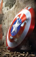 Captain America's Shield by Iconograph
