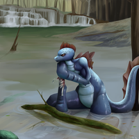 in the swamp? by Caindra