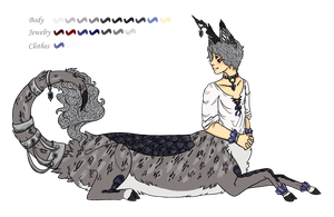 Silver Prince Kirin Taur: Closed by TeacupChimera