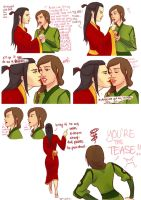 You're THE Tease, Azula by saewah