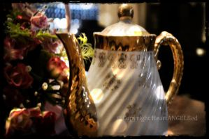 Golden Teapot by HeartANGELfied