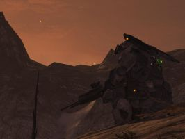 Halo Reach: lost and alone by purpledragon104