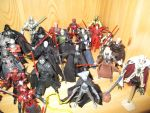 Star Wars Sith Action Figures 3 by DarthVaderXSnips
