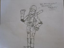Robot Soldier by locomotive111