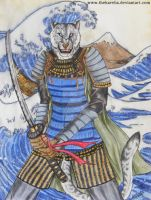 Hokusai Warrior by TheKarelia