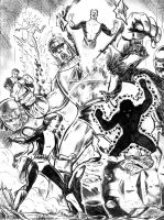 The Original New Mutants by dannphillips