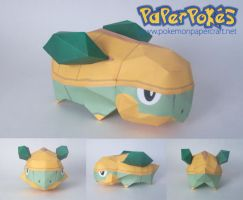 Grotle chibi papercraft by P-M-F