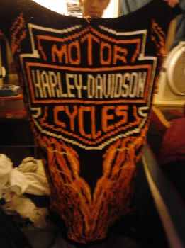 Harley davidson throw by rtaylor64