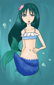 Request: Nomteruma Mermaid Fin by k0rpanda