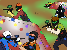 Bachelor Party 1: Battle Field by MissSnowBell
