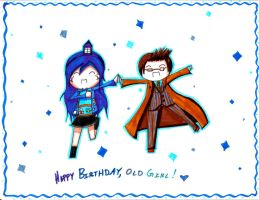 DW - HBD, Old Girl by KaitousBlackWings