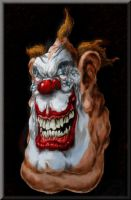 Creepy Clown by DrDeath67