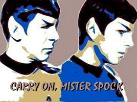 Spock On by NeonGlo