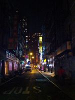 One night in New York by iyo-yo