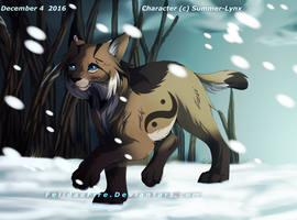 Winter Lynx by FelidaeFire