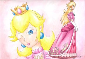 Brawl Ladies: Princess Peach by Xiaomei23