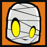 Mummy Pop Art tile by HeadsUpStudios
