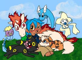 My Pokemons let me show you by Chibi-Kitty-Chan