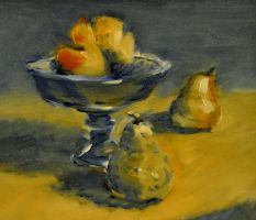 Pears in Bowl by BRipin
