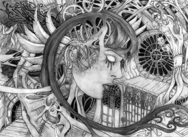 Mechanical mind by Wiicia