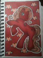 My Pink Pony by majann