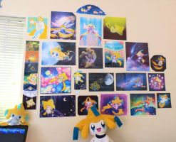 My Jirachi SHRINE by Nestly