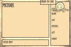Cirque du Lune Application Sheet 2 by ALA69