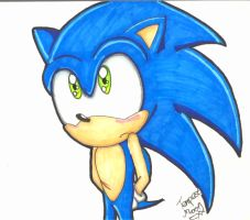 Sonic :D by TempestMoonXx