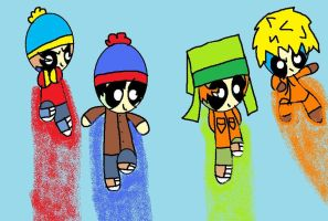 South Park Puffs by rrbppgfan9