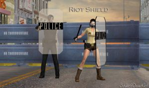 Riot Shield by bstylez