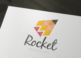 Rocket Creative Studio logo by LiveAtTheBBQ