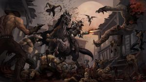 darkwatch concept art 2 by francis001
