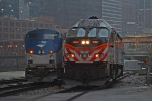 When Amtrak met Metra by JDAWG9806