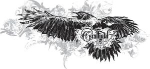Crows flight t-shirt design by chadlonius