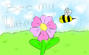 Bee My Valentine by AgnosticAnarchist