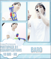 Baro (B1A4) - PHOTOPACK#01 by JeffvinyTwilight