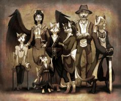 Old family potrait by Silverbloodwolf98