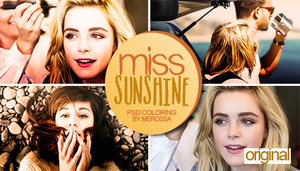 Miss Sunshine Psd Coloring by meroro2