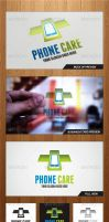 Phone Care Logo Template - Graphicriver by Changyik