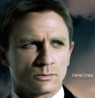 Daniel Craig - James Bond 007 by Kot1ka