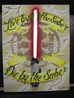 Live by the Saber... by DEMONufctre